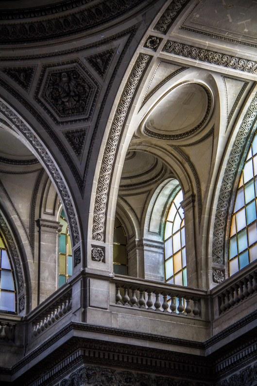 Panthéon, détail de la voute