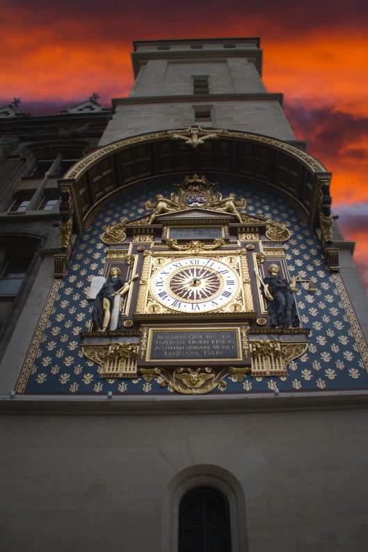 Quai de l'Horloge : Paris