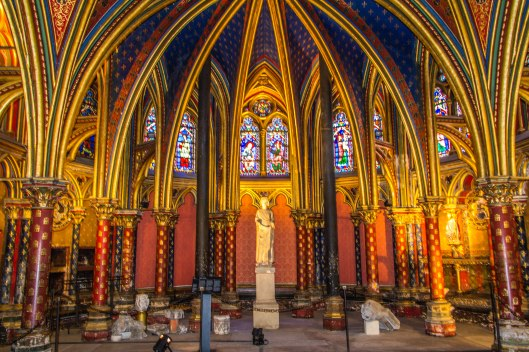 Sainte Chapelle Paris 2013