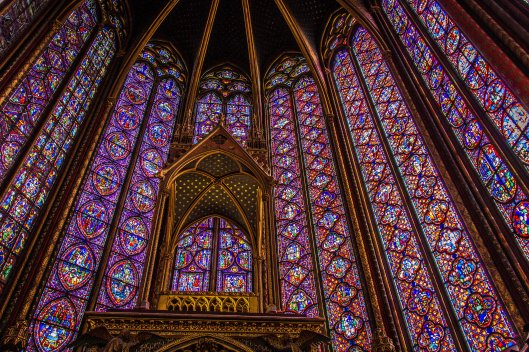 Sainte Chapelle : Paris, Mars 2013