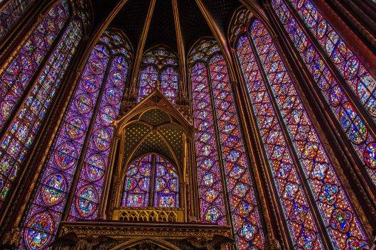 Sainte Chapelle : Paris, Mars 2013